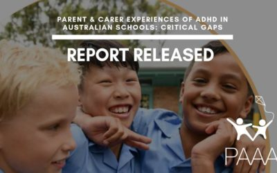 ADHD in Australian schools: Critical gaps. Report Released